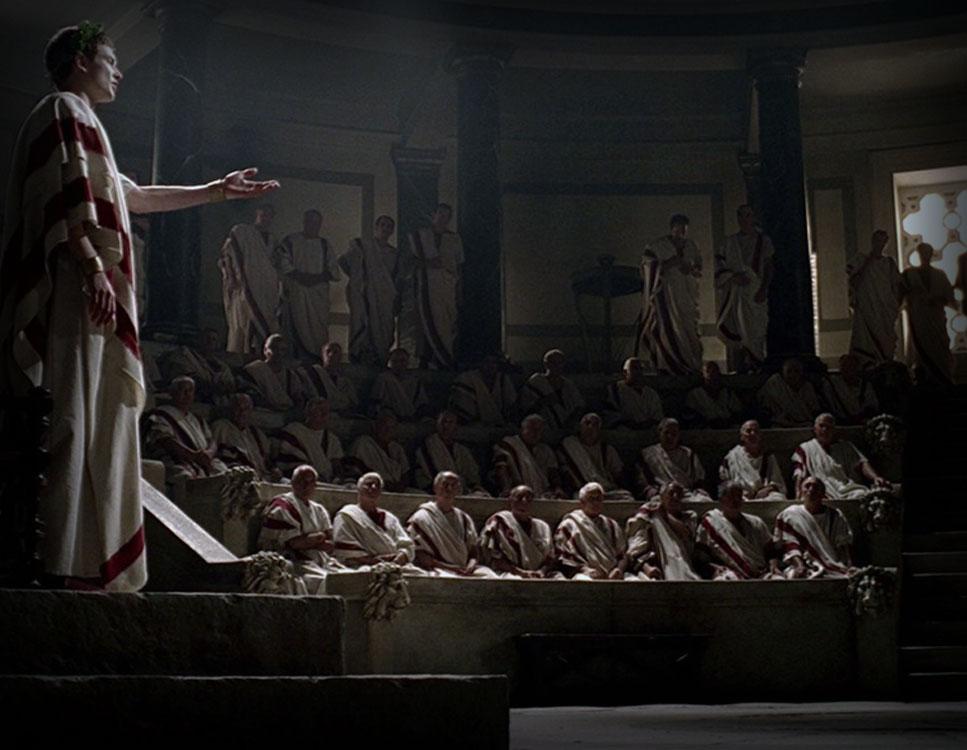Nacimiento del Senado en Roma