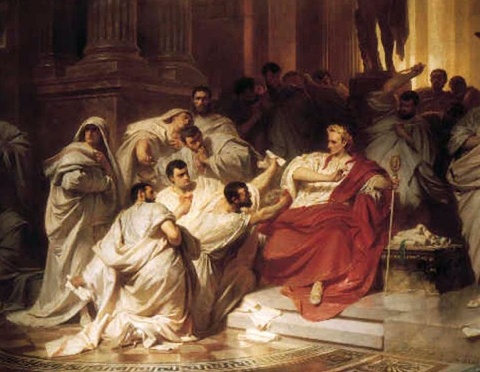 asesinato de julio cesar