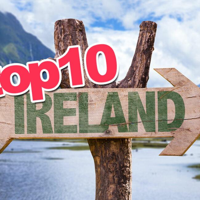 Top10 de los mejores lugares a visitar en Irlanda